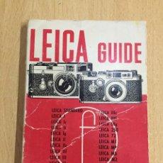 Cámara de fotos: GUIA LEICA EN INGLES. Lote 124551035