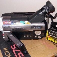 Cámara de fotos: VIDEOCÁMARA HITACHI E575 8MM DIGITAL X500 ZOOM BUENA OPTICA NUEVA. Lote 126768219