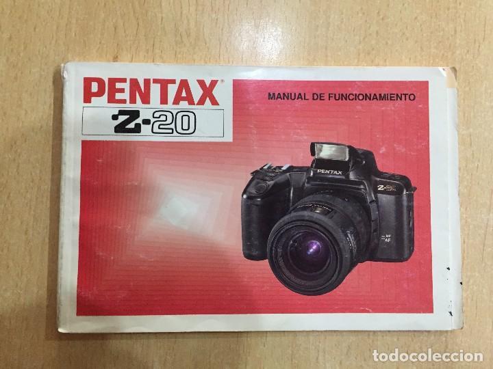 MANUAL INSTRUCCIONES PENTAX Z- 20 (Cámaras Fotográficas - Catálogos, Manuales y Publicidad)