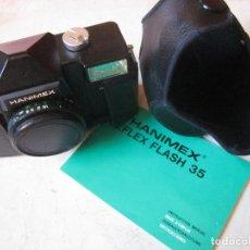 Cámara de fotos: CAMARA HANIMEX REFLEX FLASH 35 CON MANUAL DE INSTRUCCIONES. Lote 126924271