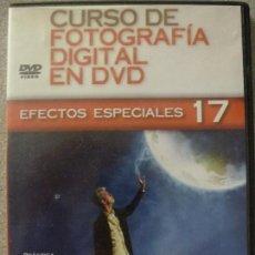 Cámara de fotos: CURSO DE FOTOGRAFÍA DIGITAL EN DVD. EFECTOS ESPECIALES. Nº 17.. Lote 127001099