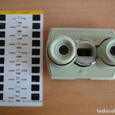 Cámara de fotos: SUPER STEREOCLIC. VISOR ESTEREOSCOPICO 3D. BRUGUIERE. 1 LAMINA (PARIS AÑOS 60). Lote 127243387