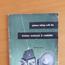 Cámara de fotos: MANUAL DE USO EN INGLES KODAK DUAFLEX II. Lote 127781679