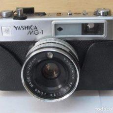 Cámara de fotos: CÁMARA DE FOTOS YASHICA MG-1. Lote 128154755