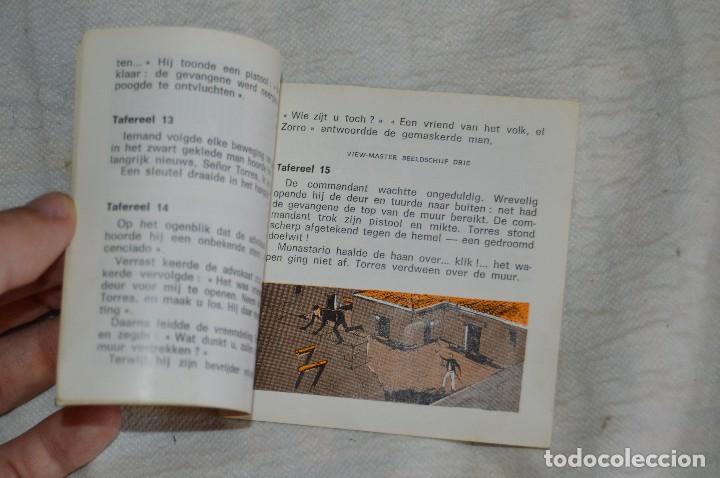 Cámara de fotos: CONJUNTO DE DIAPOSITIVAS VIEW MASTER - ZORRO - AÑOS 50 / 60 - 21 STEREO FOTOS - ENVÍO 24H - Foto 7 - 128249383