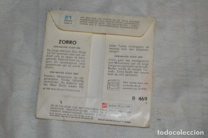 Cámara de fotos: CONJUNTO DE DIAPOSITIVAS VIEW MASTER - ZORRO - AÑOS 50 / 60 - 21 STEREO FOTOS - ENVÍO 24H - Foto 9 - 128249383