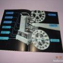 Cámara de fotos: ANTIGUO CATALOGO PUBLICITARIO DE PAILLARD CINE - PROYECTOR - AÑO 1956. Lote 128355435