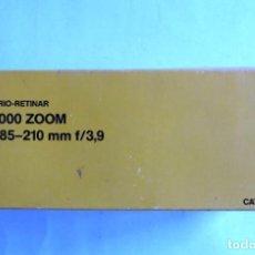 Cámara de fotos: OBJETIVO ZOOM KODAK VARIO RETINAR 85-210MM F/3,9 PARA S-AV2000.. Lote 128589763