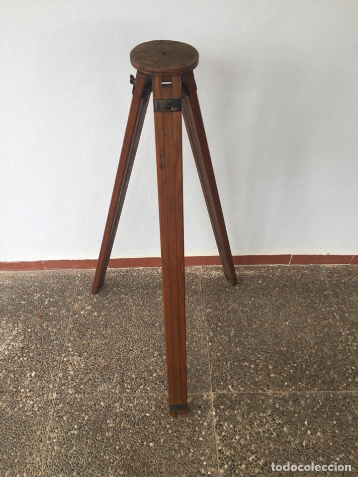 Cámara de fotos: Trípode de madera - Foto 3 - 128764515