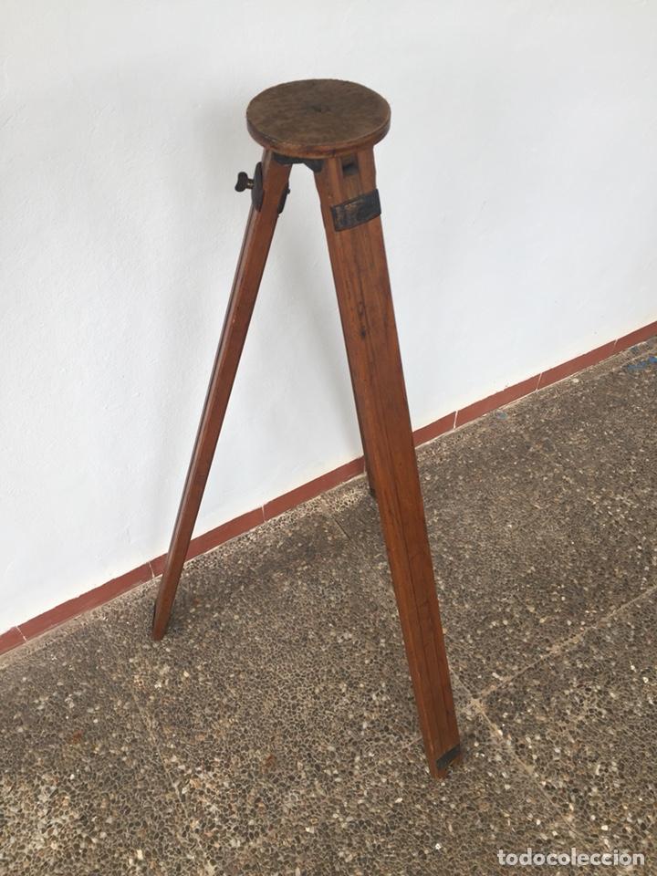 Cámara de fotos: Trípode de madera - Foto 4 - 128764515