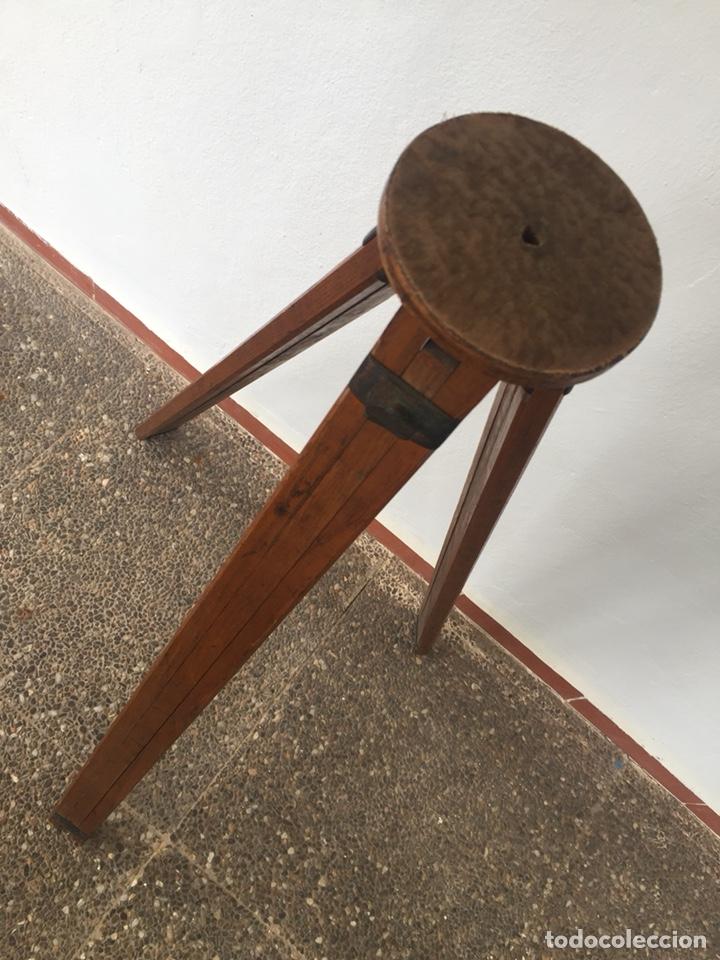 Cámara de fotos: Trípode de madera - Foto 5 - 128764515