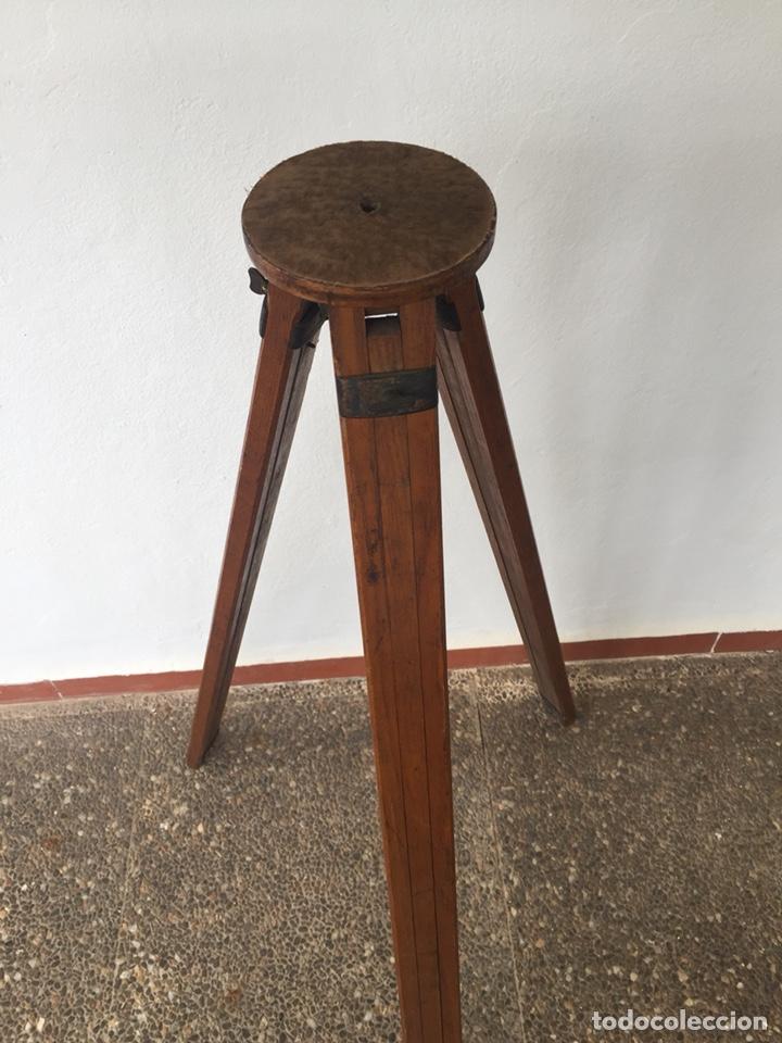 Cámara de fotos: Trípode de madera - Foto 6 - 128764515