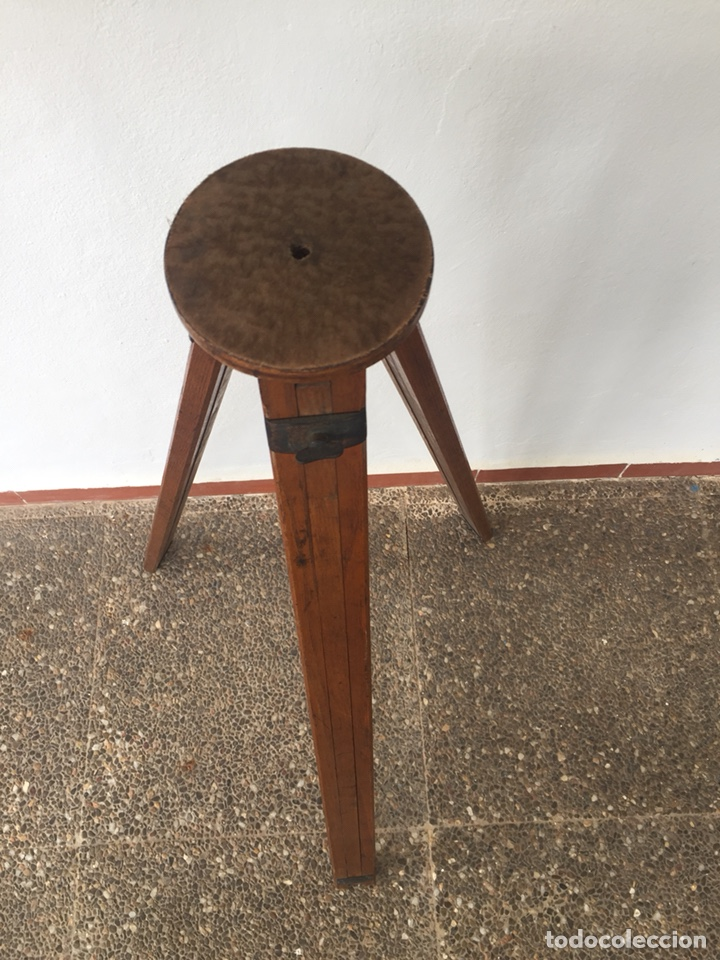 Cámara de fotos: Trípode de madera - Foto 8 - 128764515