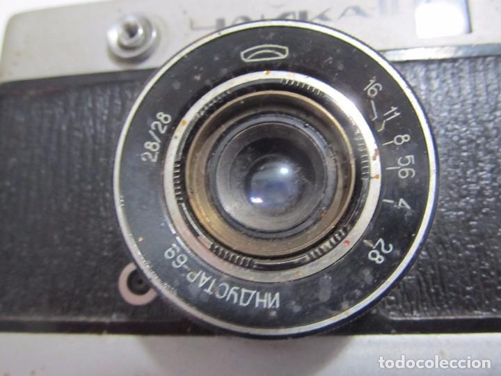Cámara de fotos: ANTIGUA CÁMARA DE FOTOS RUSA CHAIKA-II - Foto 2 - 129361599