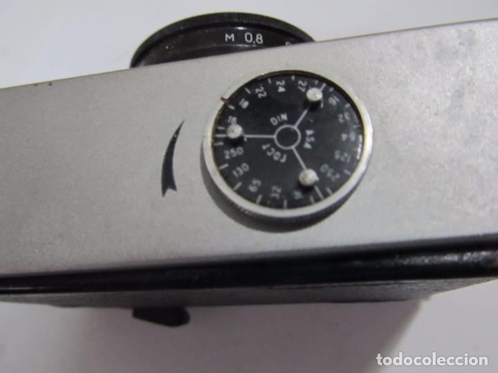 Cámara de fotos: ANTIGUA CÁMARA DE FOTOS RUSA CHAIKA-II - Foto 4 - 129361599