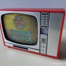 Cámara de fotos: TELEVISIÓN VISOR DIAPOSITIVAS RECUERDO DE TERRA MÍTICA TELE JUGUETE SOUVENIR MADE IN SPAIN TELEVISOR. Lote 129524407