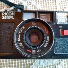 Cámara de fotos: **CAMARA DE FOTOS DE LOS 80, --- RICOH 35 EFL --- A PILAS**. Lote 129549411