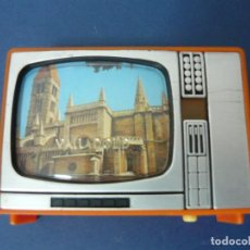 Appareil photos: VISOR DE DIAPOSITIVAS CON FORMA DE TELEVISOR DE VALLADOLID TELEVISIÓN TV. Lote 130620818