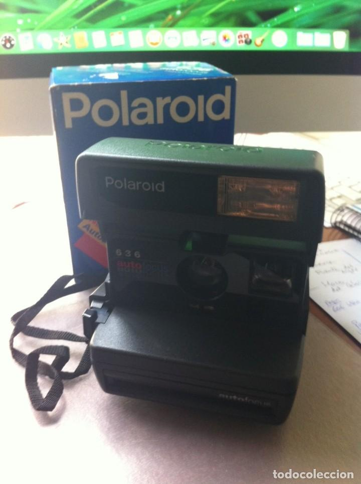 Cámara de fotos: Cámara de Fotografiar Polaroid 636 Autofocus Instant Camera. Completa. Como nueva. - Foto 4 - 130822796