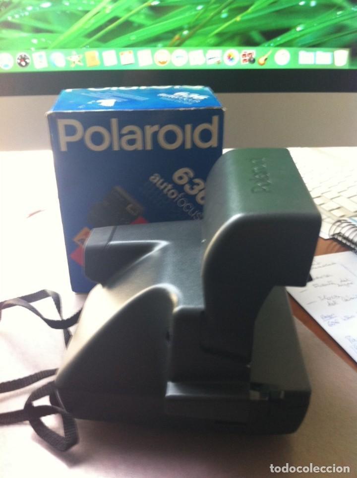 Cámara de fotos: Cámara de Fotografiar Polaroid 636 Autofocus Instant Camera. Completa. Como nueva. - Foto 5 - 130822796