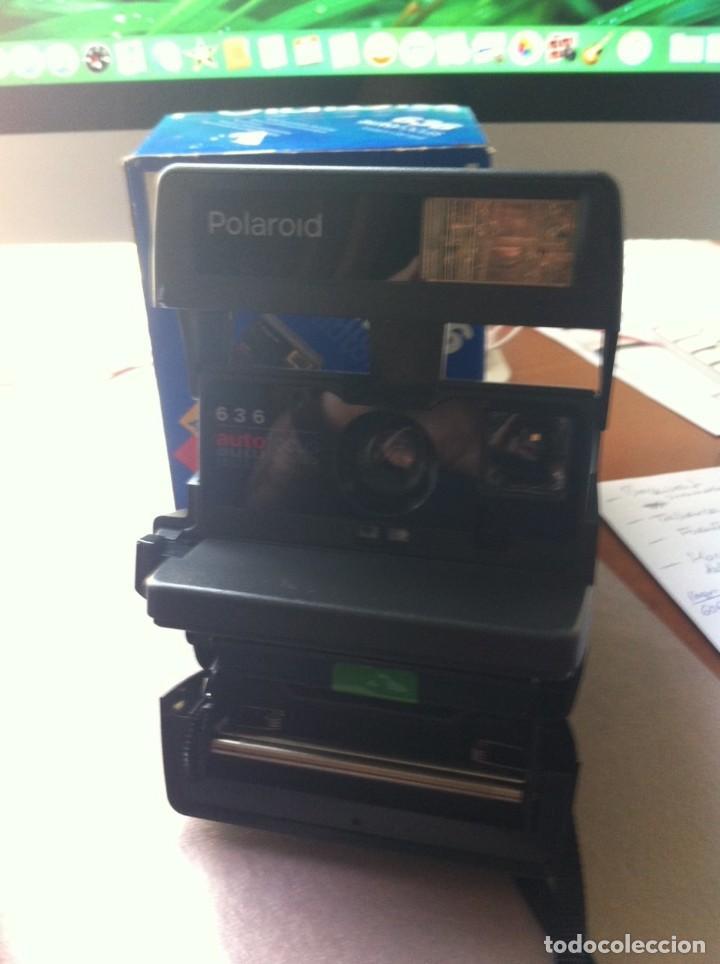 Cámara de fotos: Cámara de Fotografiar Polaroid 636 Autofocus Instant Camera. Completa. Como nueva. - Foto 2 - 130822796