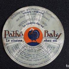 Cámara de fotos: PUBLICIDAD PATHE BABY , MOTOCAMERA LE CINEMA CHEZ SOI. Lote 131553322
