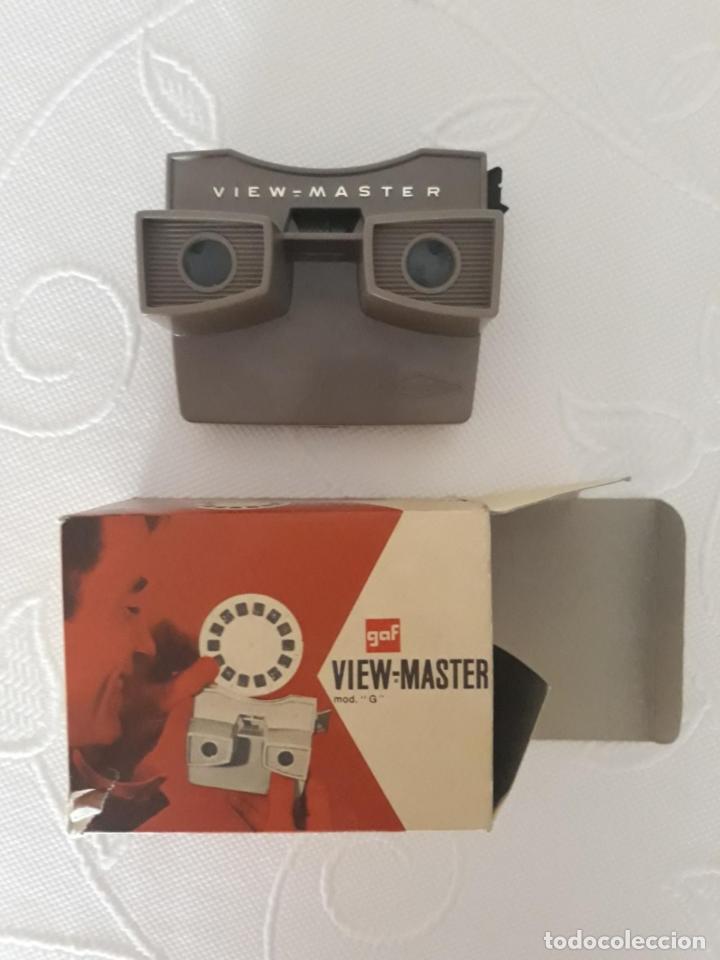 VIEW-MASTER MODELO G - MARCA GAF - AÑO 1950 (Cámaras Fotográficas - Visores Estereoscópicos)