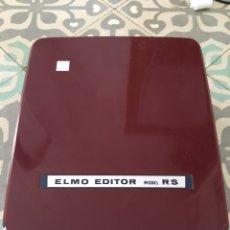 Cámara de fotos: ELMO EDITOR MODEL RS 8 MM. Lote 131697318
