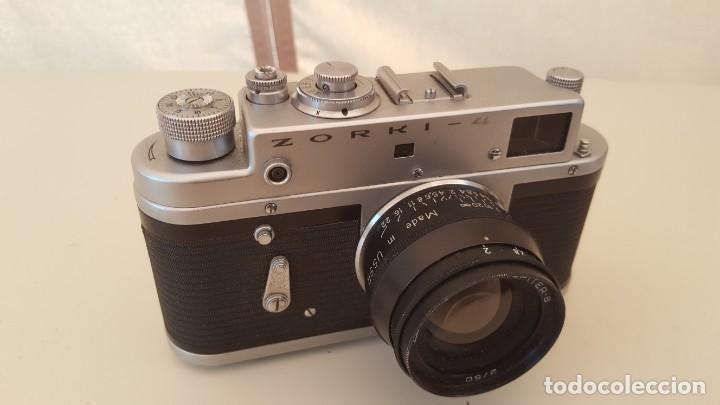 Cámara de fotos: Camara Rusa Zorki 4 1971 - Foto 2 - 131731882