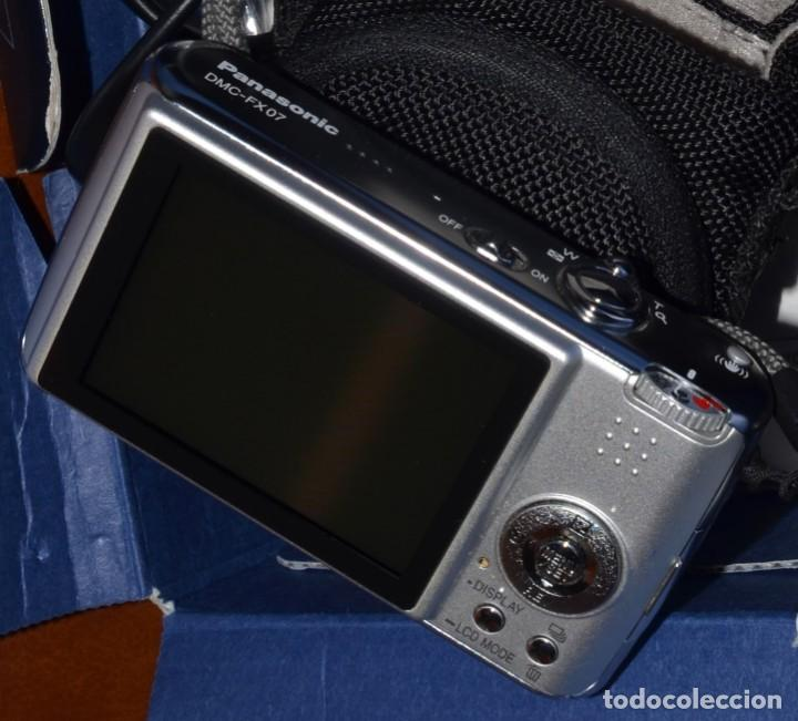 CÁMARA DIGITAL PANASONIC LUMIX DMC FX-07 FX07 , OBJETIVO LEICA EXCELENTE+++ (Cámaras Fotográficas - Otras)