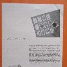 Cámara de fotos: PUBLICIDAD 1958 - COLECCIÓN CÁMARAS - CAMARAS ZEISS IKON . Lote 132197994