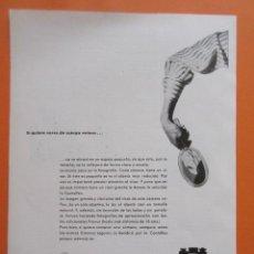 Cámara de fotos: PUBLICIDAD 1958 - COLECCIÓN CÁMARAS - CAMARAS ZEISS IKON . Lote 132198098