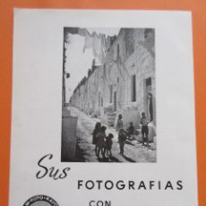 Cámara de fotos: PUBLICIDAD 1958 - COLECCIÓN CÁMARAS - SUS FOTOGRAFIAS CON MAFE ARANJUEZ. Lote 132198310