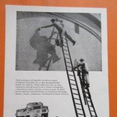 Cámara de fotos: PUBLICIDAD 1958 - COLECCIÓN CÁMARAS - LEICA LEITZ. Lote 132198754