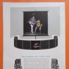 Cámara de fotos: PUBLICIDAD 1958- COLECCIÓN CÁMARAS - ROLLEI ROLLEIFLEX. Lote 132199122