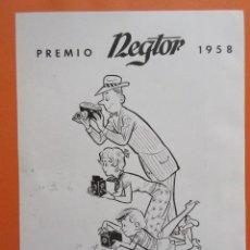 Cámara de fotos: PUBLICIDAD 1958 - COLECCIÓN CÁMARAS - REGTOR 1958. Lote 132200130