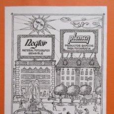 Cámara de fotos: PUBLICIDAD 1959 - COLECCIÓN CÁMARAS - REGTOR PLEMEN. Lote 132200170
