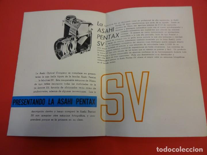 Cámara de fotos: Catálogo desplegable ASAHI PENTAX SV - Foto 2 - 132459122