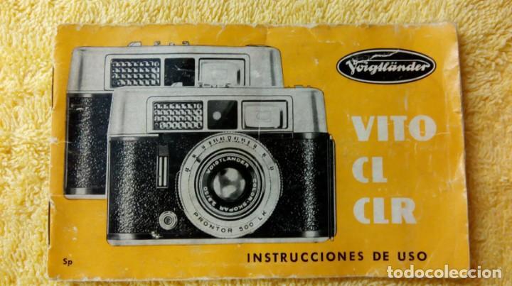 Cámara de fotos: Cámara Voigtlander Vito CL CLR instrucciones - Foto 10 - 132590942