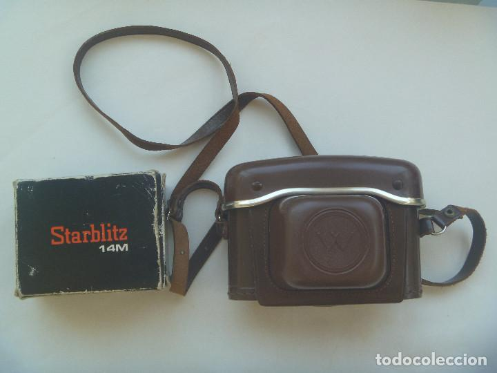 Cámara de fotos: CAMARA DE FOTO MARCA WERLISA - COLOR , CON SU ESTUCHE DE CUERO Y FLASH MARCA STARBLITZ - Foto 2 - 132591538