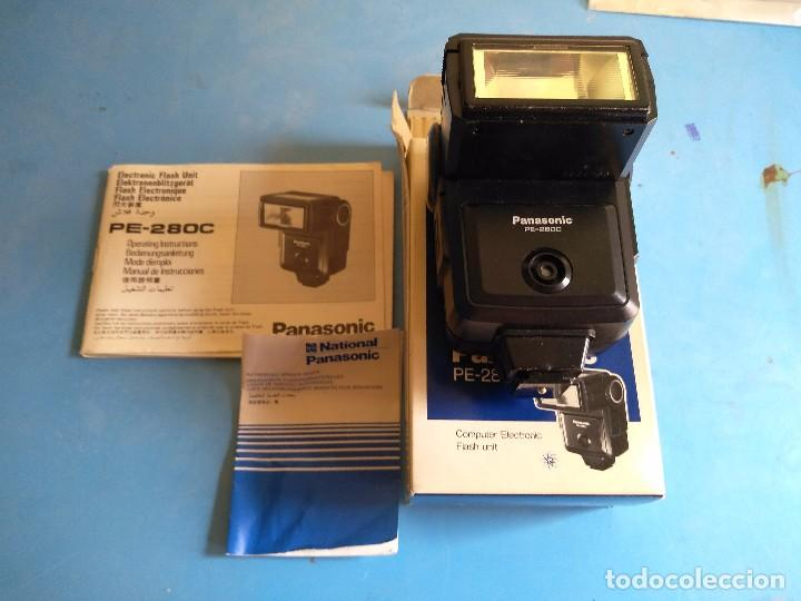 PANASONIC PE-280C ,COMPUTER ELECTRONIC FLASH UNIT,MADE UN JAPAN (Cámaras Fotográficas - Otras)