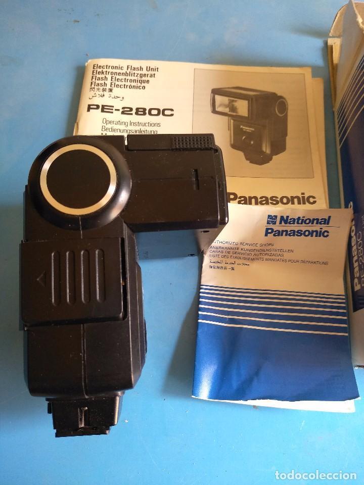 Cámara de fotos: Panasonic PE-280C ,computer electronic flash unit,made un Japan - Foto 5 - 132657926