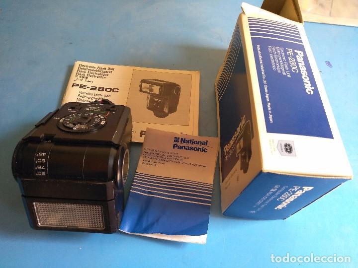 Cámara de fotos: Panasonic PE-280C ,computer electronic flash unit,made un Japan - Foto 7 - 132657926