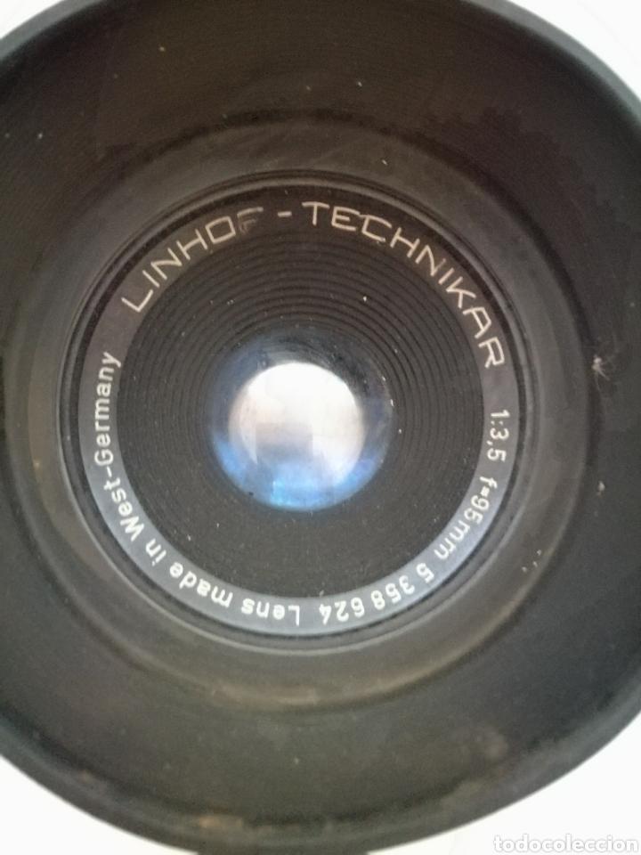 Cámara de fotos: Antigua Camara Profesional Linhof Technikar. - Foto 3 - 132717749