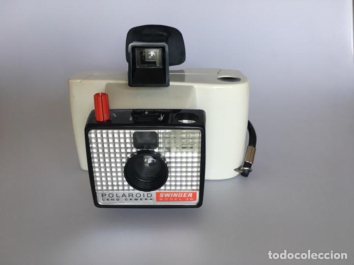 Polaroid swinger commercial
