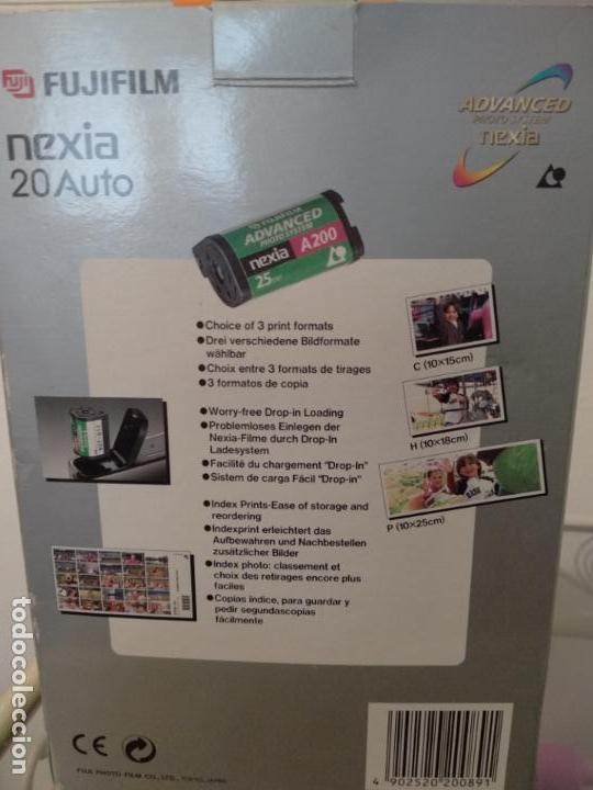 Cámara de fotos: Fujifilm Nexia 20 Auto cámara con dos carretes en caja estrenar - Foto 5 - 133457742