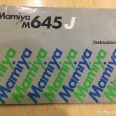 Cámara de fotos: MAMIYA M 645 J. Lote 133696706