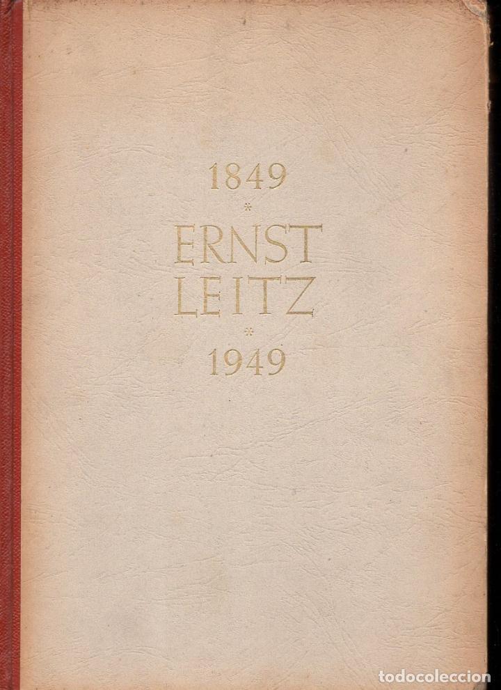 ERNST LEITZ 1849 1949 OPTISCHE WERKE WETZLAR - INSTRUMENTOS ÓPTICOS (Cámaras Fotográficas - Catálogos, Manuales y Publicidad)