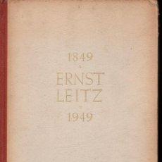 Cámara de fotos: ERNST LEITZ 1849 1949 OPTISCHE WERKE WETZLAR - INSTRUMENTOS ÓPTICOS. Lote 133986774