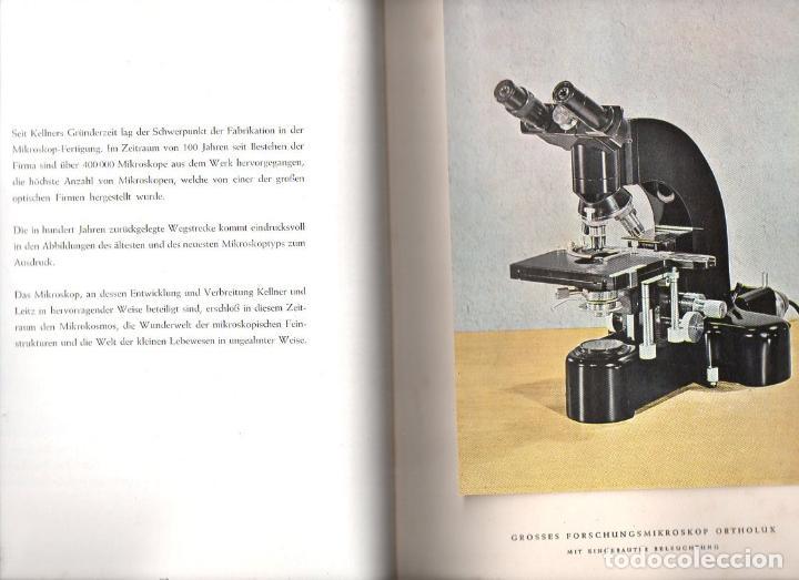Cámara de fotos: ERNST LEITZ 1849 1949 OPTISCHE WERKE WETZLAR - INSTRUMENTOS ÓPTICOS - Foto 2 - 133986774